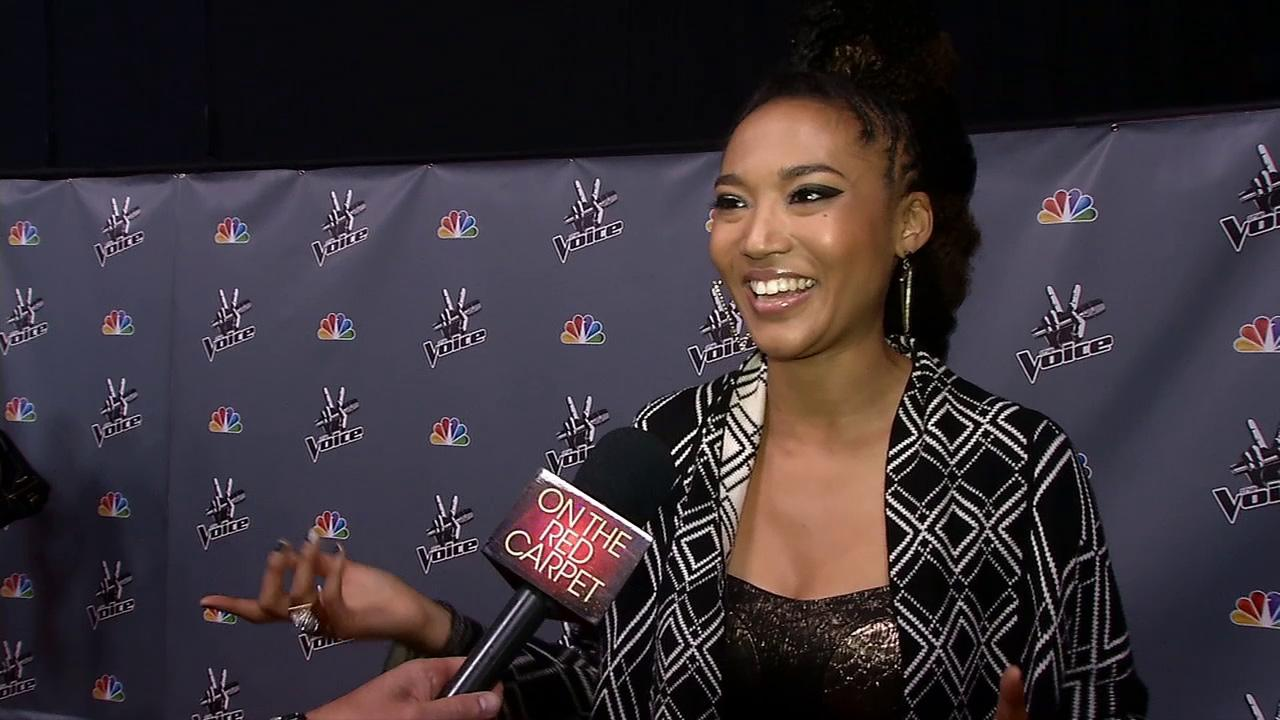 Judith Hill talks to OTRC.com after a live taping of The Voice season 4 on May 27, 2013.