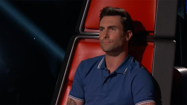 Adam Levine appears on NBCs The Voice on May 28, 2013. - Provided courtesy of NBC