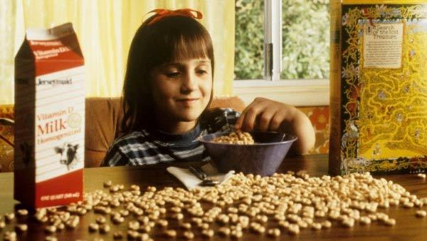 Mara Wilson appears in the 1996 film 'Matilda.'