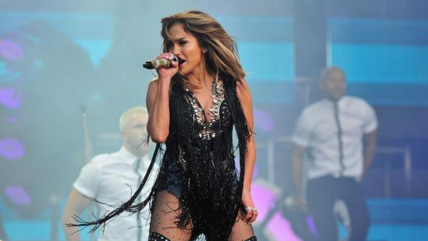 Jennifer Lopez performs at The Sound of Change Live at Twickenham Stadium in London on Saturday, June 1st, 2013. - Provided courtesy of Jon Furniss/Invision/AP Images