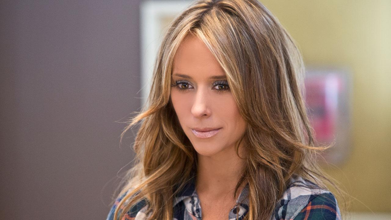 Jennifer Love Hewitt appears in a scene from an episode of The Client List, which aired on March 31, 2013.