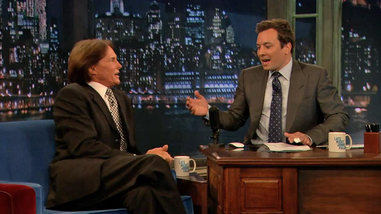Bruce Jenner appeared on Late Night With Jimmy Fallon on June 4.