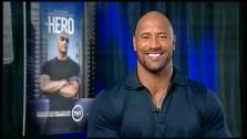 Dwayne Johnson talked to OTRC.com in a satellite interview on June 5, 2013. - Provided courtesy of OTRC