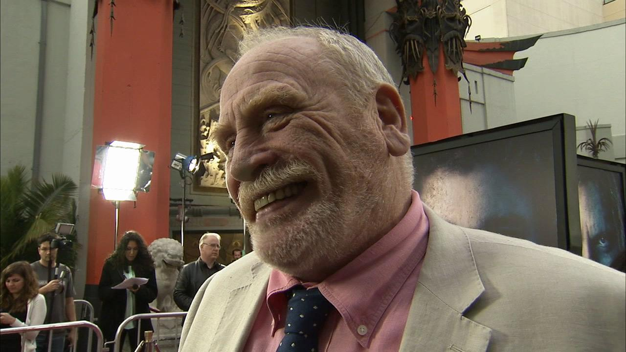 James Cosmo, who plays Jeor Mormont on Game of Thrones, talks to OTRC.com at the premiere of the HBO shows season 3 in Los Angeles on March 18, 2013.