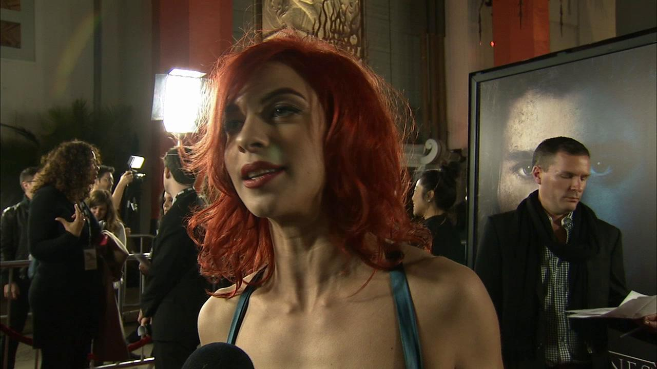 Natalia Tena, who plays Osha on Game of Thrones, talks to OTRC.com at the premiere of the HBO shows season 3 in Los Angeles on March 18, 2013.