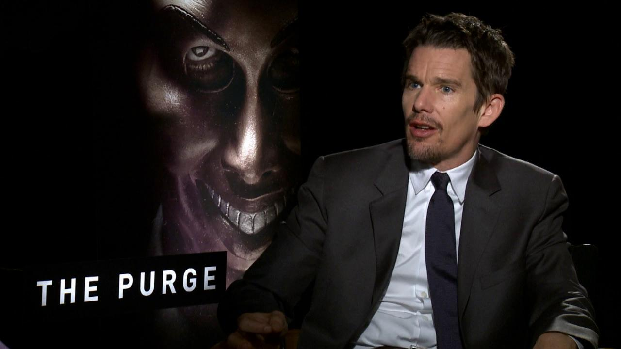 Ethan Hawke talks to OTRC.com about the 2013 film The Purge.