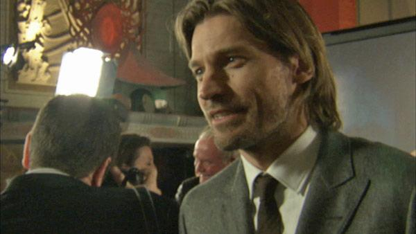 Nikolaj Coster-Waldau, who plays Jaime Lannister on 'Game of Thrones, appears at the premiere of the HBO show's season 3 in Los Angeles on March 18, 2013.