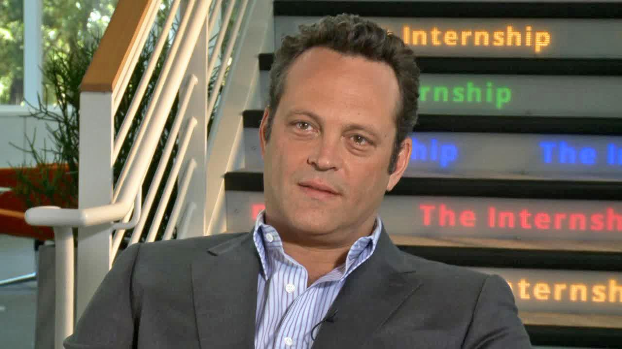 Vince Vaughn appears in a junket interview for The Internship filmed on May 31, 2013.