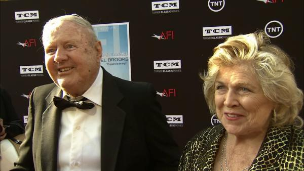 Dick Van Patten talks to OTRC.com on the red carpet at the American Film Institutes 41st Lifetime Achievement Gala, honoring Mel Brooks, at the Dolby Theatre in Los Angeles on Thursday, June 6, 2013.