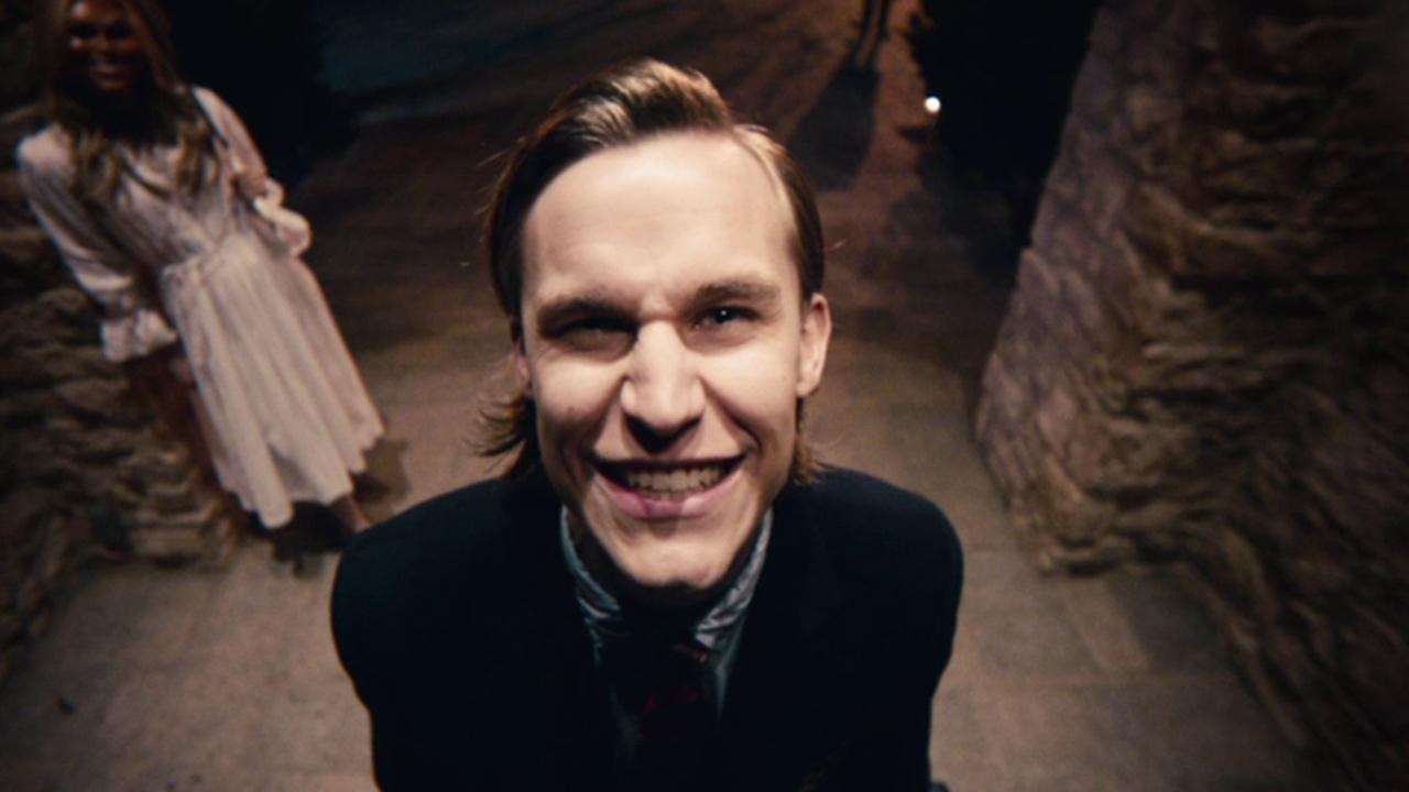 Rhys Wakefield appears in a scene from the 2013 horror film The Purge.