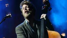 Ted Dwane of Mumford and Sons performs with the band at The Sasquatch! Music Festival on May 26, 2013 in George, Washington. - Provided courtesy of John Davisson / Invision / AP