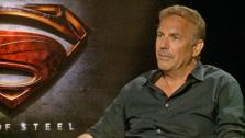 Kevin Costner talked to OTRC.com about his upcoming Superman film, Man of Steel, in June 2013. - Provided courtesy of none / OTRC