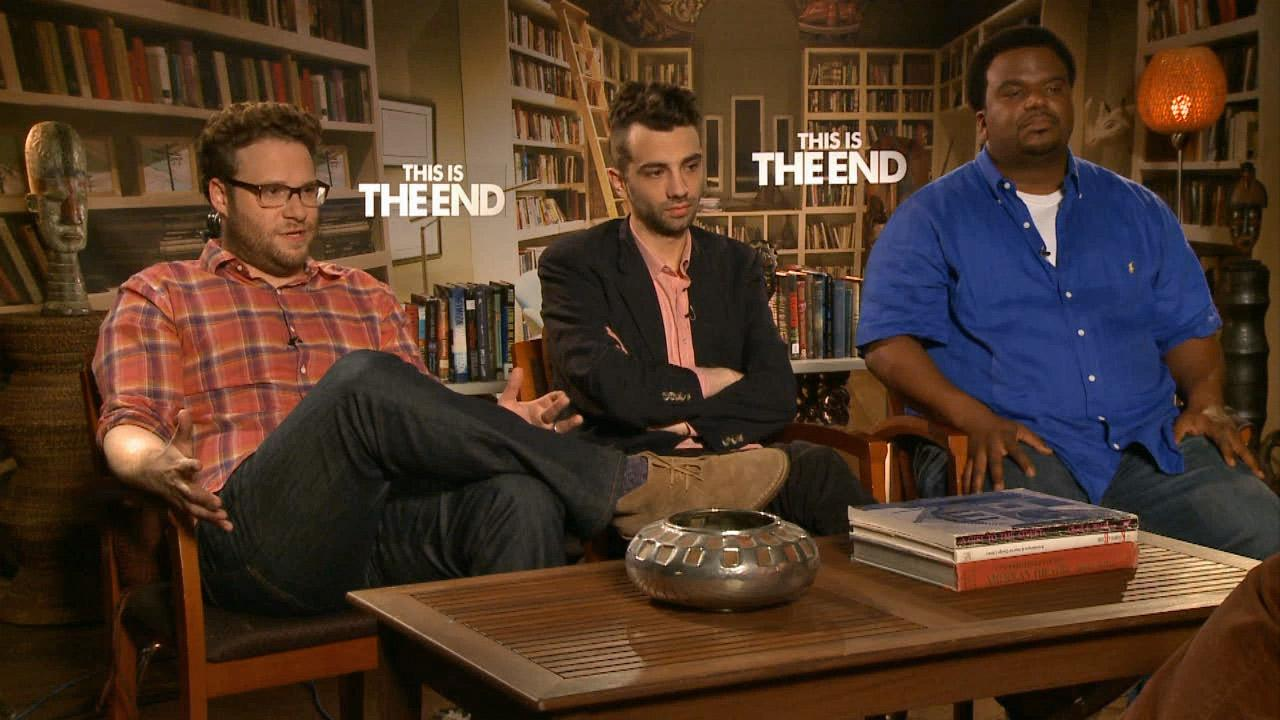 Seth Rogen, Jay Baruchel and Craig Robinson talk to OTRC.com about their upcoming comedy, This Is The End.
