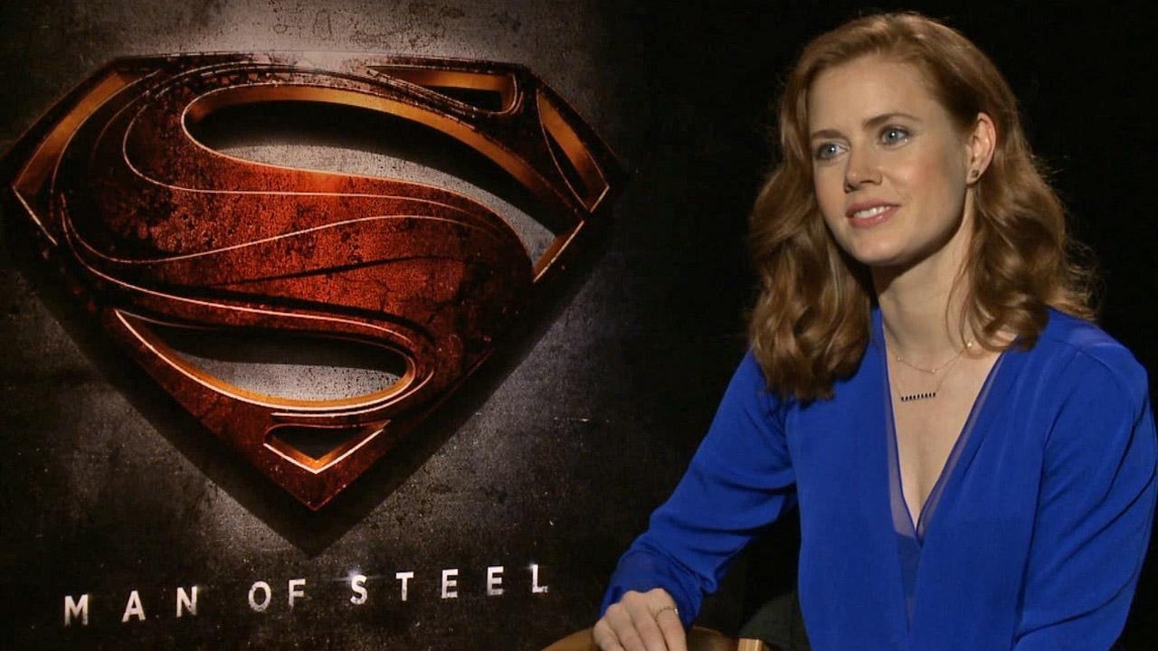 Amy Adams talked to OTRC.com about her upcoming Superman film, Man of Steel, in June 2013.