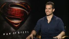 Henry Cavill talks to OTRC.com about the movie Man of Steel, in which he plays Clark Kent / Superman, in a June 2013 interview. - Provided courtesy of OTRC