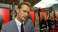 Alexander Skarsgard on Pam and Eric