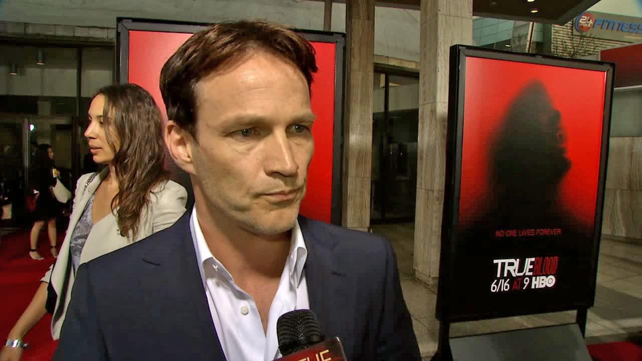 Stephen Moyer talked to OTRC.com at the premiere of True Blood season 6 on June 11, 2013.