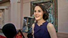 Michelle Dockery talked to OTRC.com in an interview at An Evening with Downton Abbey event on June 10, 2013. - Provided courtesy of OTRC