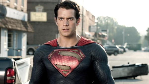 Henry Cavill appears in a scene from the 2013 film Man of Steel. - Provided courtesy of Clay Enos / Warner Bros. Pictures