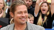 Brad Pitt appears on Good Morning America on June 17, 2013. - Provided courtesy of ABC/Donna Svennevik