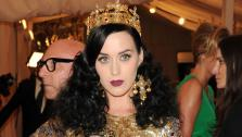 Recording artist Katy Perry attends The Metropolitan Museum of Arts Costume Institute benefit celebrating PUNK: Chaos to Couture on Monday, May 6, 2013 in New York. - Provided courtesy of Evan Agostini/Invision/AP