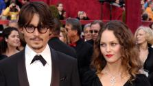 Johnny Depp, nominated for an Oscar for best actor in a leading role for his work in Sweeney Todd The Demon Barber of Fleet Street, arrives with Vanessa Paradis for the 80th Academy Awards Sunday, Feb. 24, 2008, in Los Angeles. - Provided courtesy of AP / AP Photo/Chris Pizzello