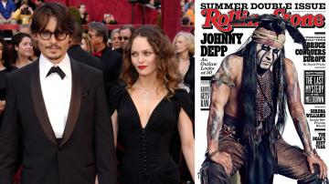 Johnny Depp arrives with Vanessa Paradis for the 80th Academy Awards Sunday, Feb. 24, 2008, in Los Angeles.  / Depp appears on the July 4, 2013 cover of Rolling Stone. - Provided courtesy of AP / AP Photo/Chris Pizzello / Rolling Stone