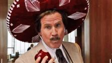 Will Ferrell appears in a trailer for the 2013 movie Anchorman: The Legend Continues. - Provided courtesy of none / Paramount Pictures