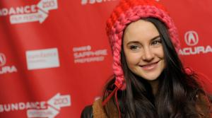 Shailene Woodley, a cast member in The Spectacular Now, poses at the premiere of the film at the 2013 Sundance Film Festival, Friday, Jan. 18, 2013, in Park City, Utah. - Provided courtesy of Chris Pizzello/Invision/AP
