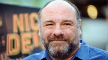 James Gandolfini arrives at the LA premiere of Nicky Deuce at the ArcLight Hollywood on Monday, May 20, 2013 in Los Angeles. - Provided courtesy of Richard Shotwell/Invision/AP