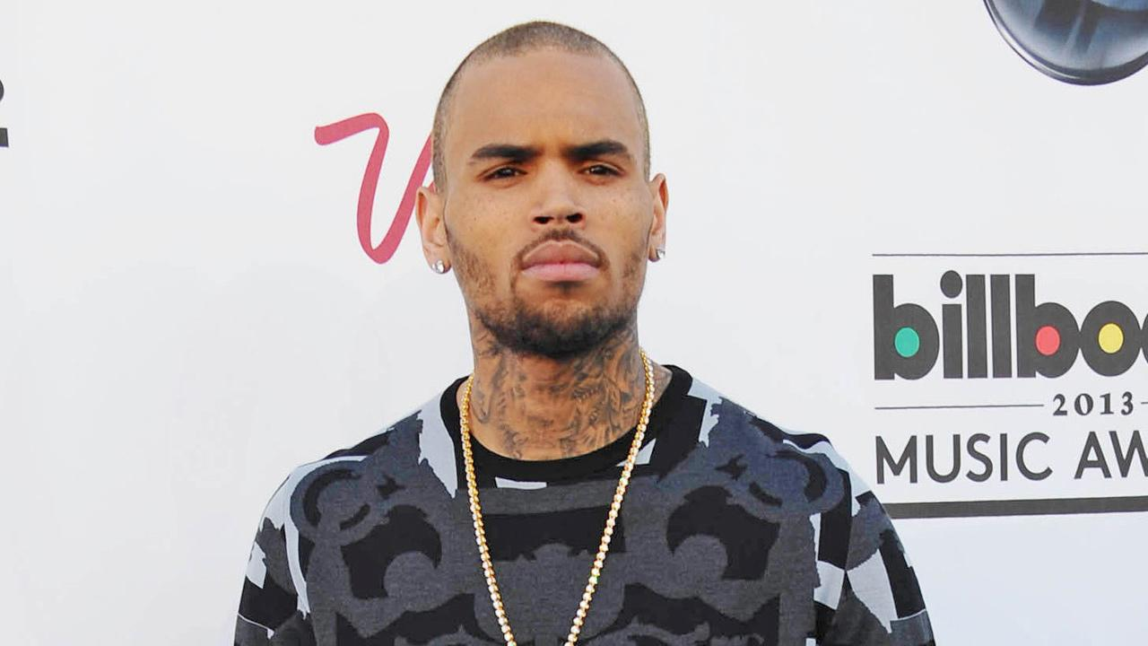 Chris Brown appears at the Billboard Music Awards on May 19, 2013.