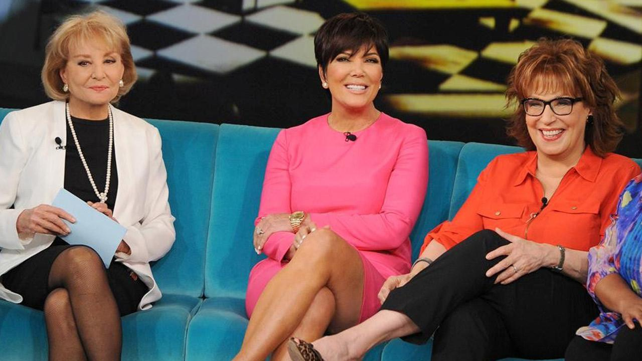Kris Jenner appears on The View on June 25, 2013.