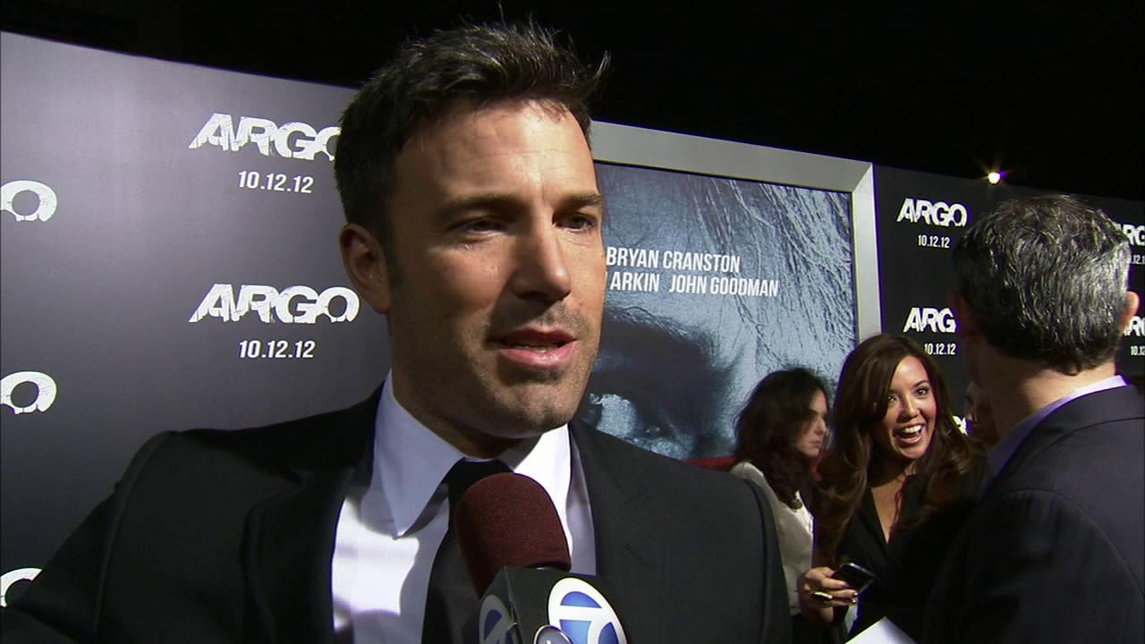 Ben Affleck talks to OTRC.com about his upcoming film, Argo, on October 8, 2012.OTRC