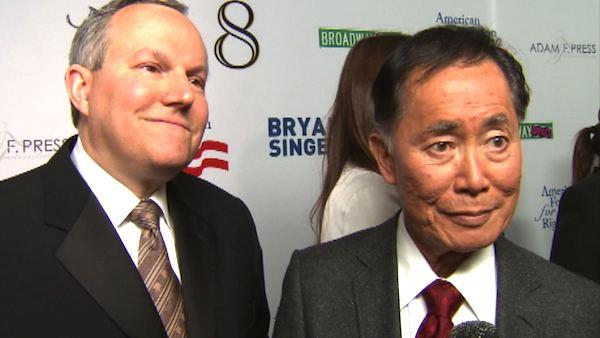 George Takei talks to OTRC.com about the star-studded '8' play, why his marriage is so important to him and turning 75, in a March 2012 interview.