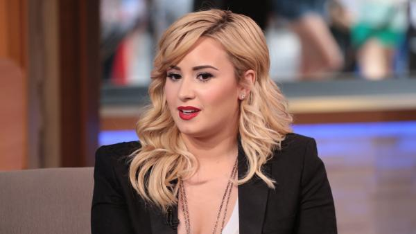 Demi Lovato appears on Good Morning America on June 27, 2013. - Provided courtesy of ABC / Good Morning America