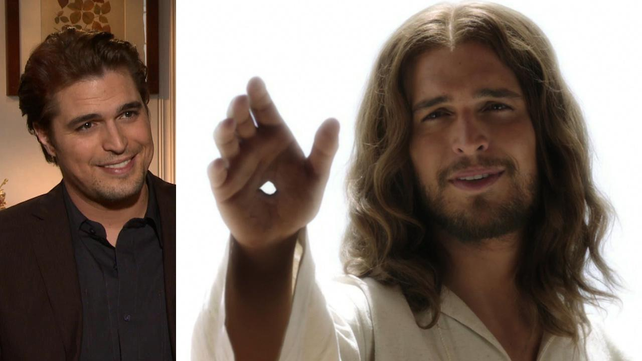 Diogo Morgado talks to OTRC.com about the History channel miniseries The Bible, which premiered on March 3, 2013. / Diogo Morgado appears as Jesus in this publicity photo for The Bible.