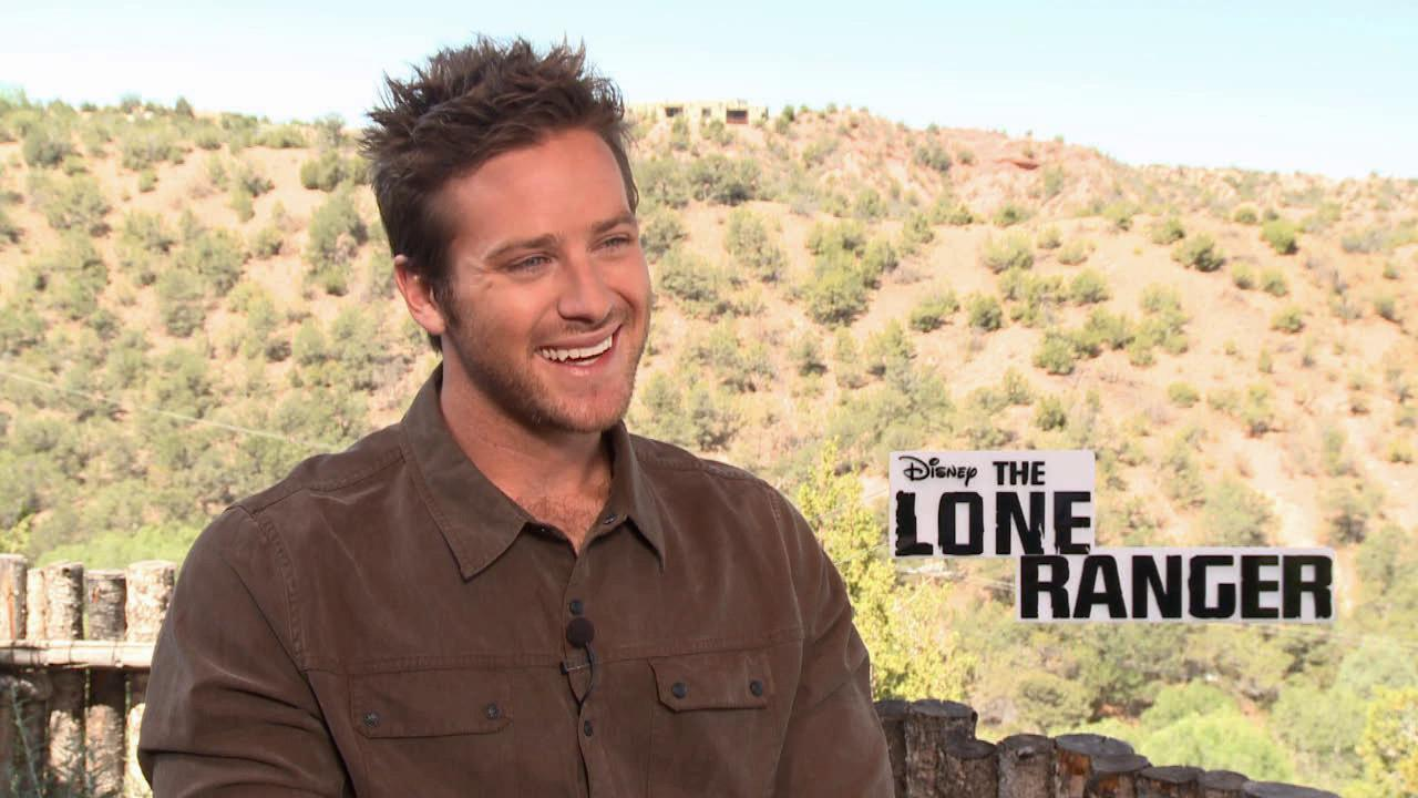 Armie Hammer talks to OTRC.com about the 2013 film The Lone Ranger. He plays the title character in the Disney film, while Johnny Depp portrays Tonto.