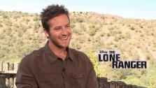 Armie Hammer talks to OTRC.com about the 2013 film The Lone Ranger. He plays the title character in the Disney film, while Johnny Depp portrays Tonto. - Provided courtesy of OTRC