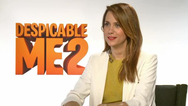 Kristen Wiig appears in a June 19, 2013, interview with OTRC.com for Despicable Me 2. - Provided courtesy of OTRC