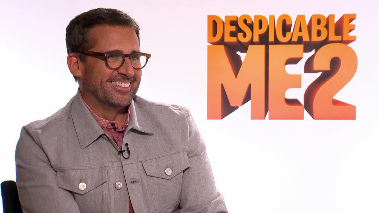 Steve Carell appears in a June 19, 2013, interview with OTRC.com for Despicable Me 2.
