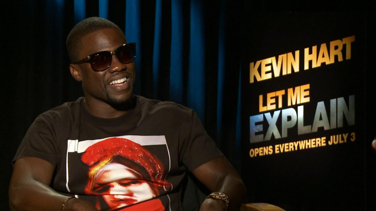 Kevin Hart talks to OTRC.com about his film Let Me Explain, getting big laughs on stage and making his children proud. The movie hit theaters on July 3, 2013.