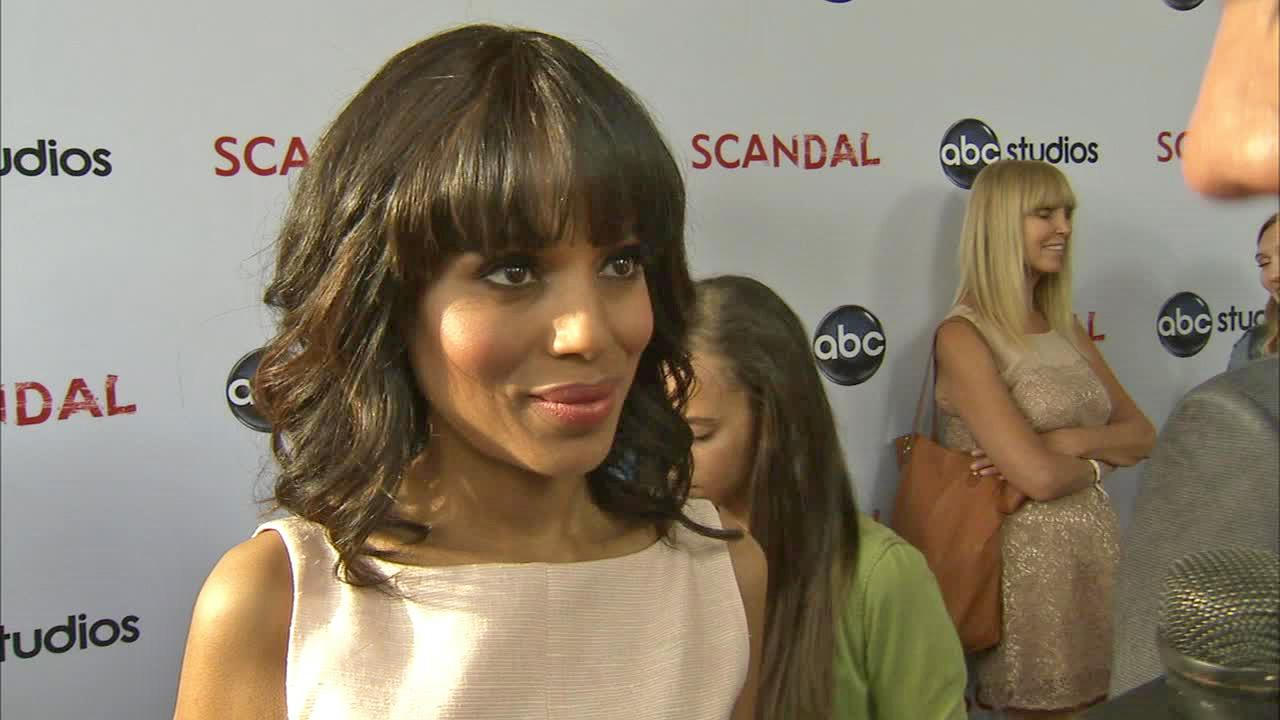 Kerry Washington talks to OTRC.com at the Scandal event at the Academy of Television Arts and Sciences on May 16, 2013.