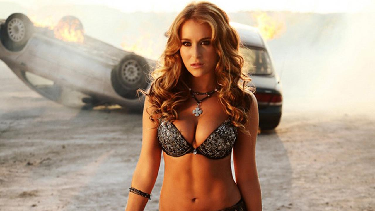 Alexa Vega appears in a scene from the 2013 film Machete Kills.Open Road Films