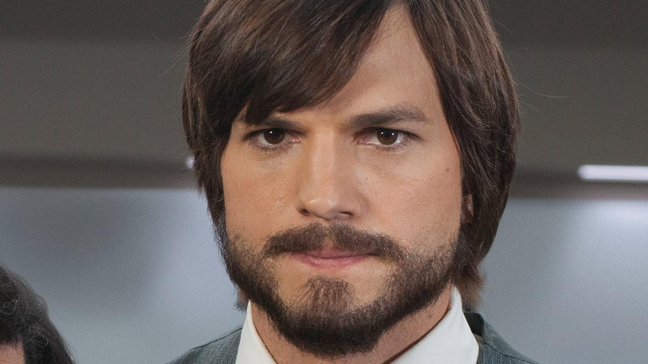 Ashton Kutcher appears as Apple founder and CEO Steve Jobs in this promotional photo for the 2013 film Jobs.Glen Wilson / Open Road Films