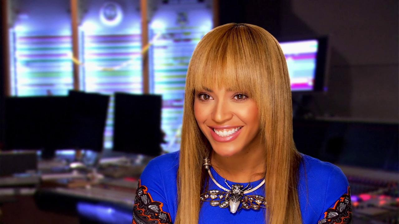 Beyonce talks about the 2013 animated film Epic. <span class=meta>(Twentieth Century Fox Animation)</span>