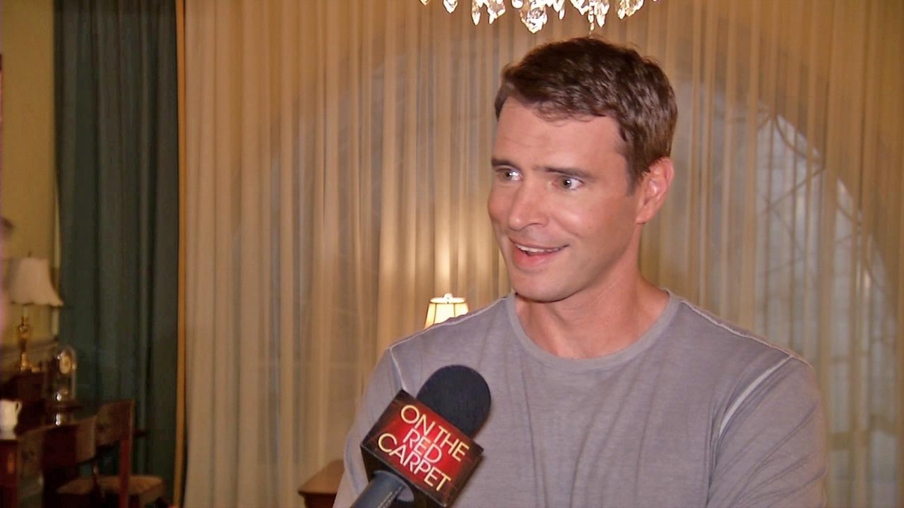 Scott Foley talks to OTRC.com on the set of Scandal on April 4, 2013.