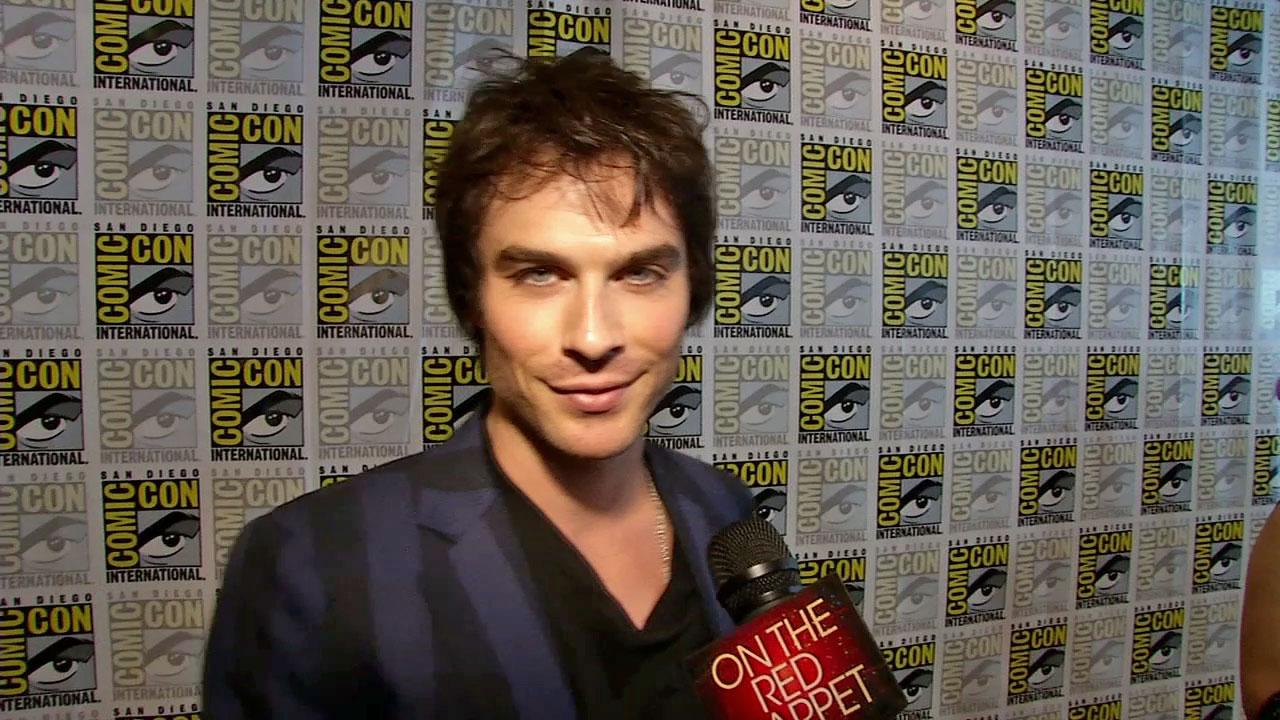Ian Somerhalder talks to OnTheRedCarpet.com about the upcoming 4th season of The Vampire Diaries at San Diego Comic-Con on July 14, 2012.