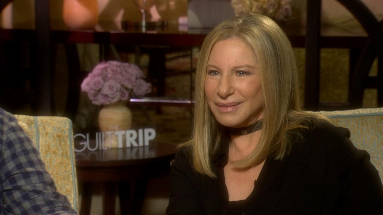 Barbra Streisand talks to OTRC.com about the movie The Guilt Trip in December 2012.