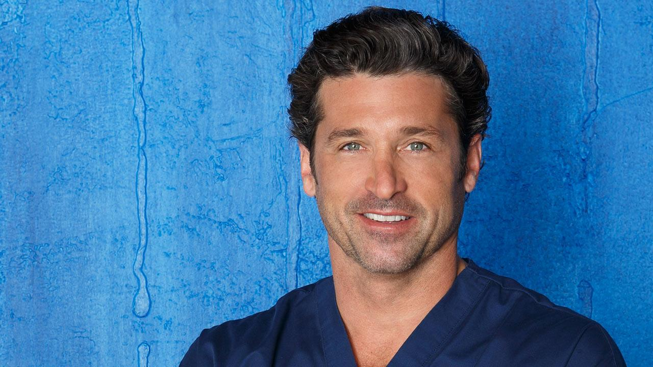Patrick Dempsey appears in a 2012 promotional photo for Greys Anatomy.ABC