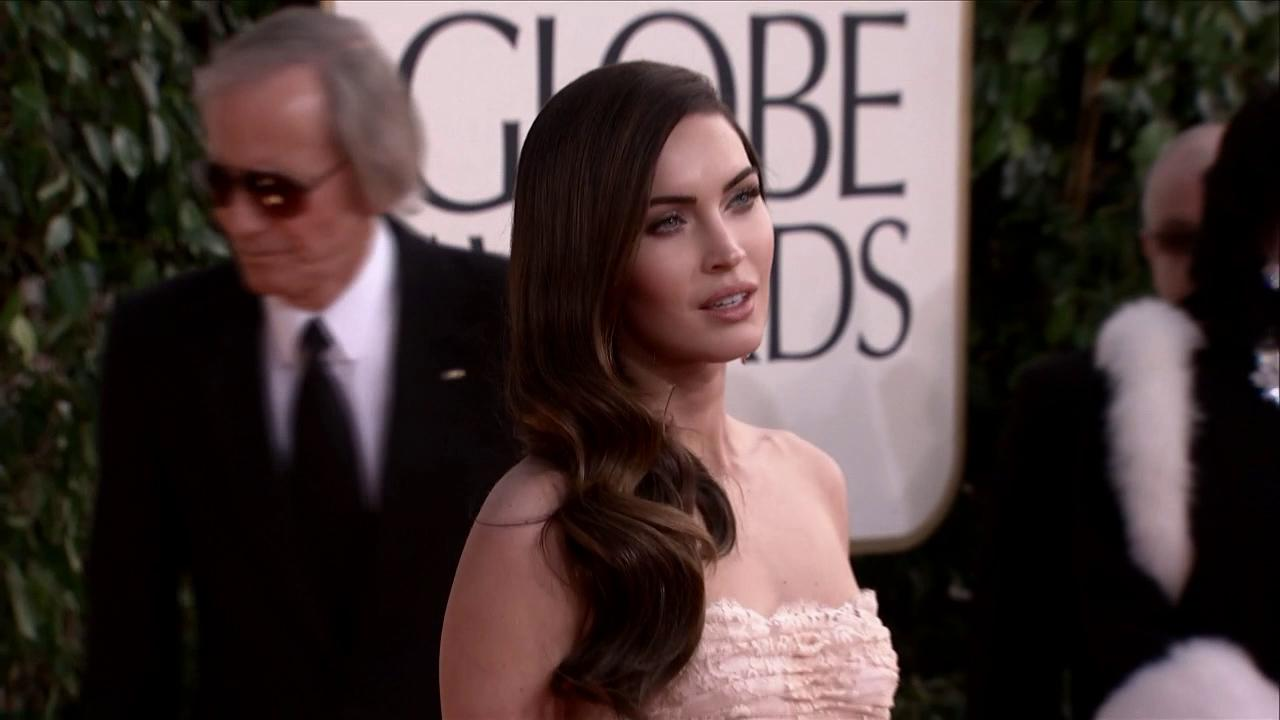 Megan Fox appears at the 2013 Golden Globe Awards in Beverly Hills, California on Jan. 13, 2013.